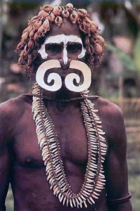 asmat warrior